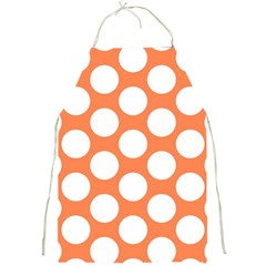 Orange Polkadot Apron by Zandiepants