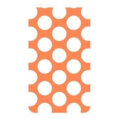Orange Polkadot Memory Card Reader (rectangular) by Zandiepants
