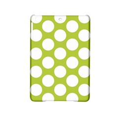 Spring Green Polkadot Apple iPad Mini 2 Hardshell Case by Zandiepants