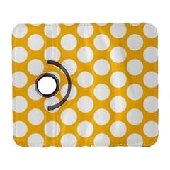 Sunny Yellow Polkadot Samsung Galaxy S  Iii Flip 360 Case by Zandiepants