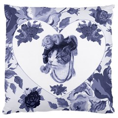 MISS KITTY Large Cushion Case (Single Sided)