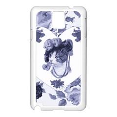 Miss Kitty Samsung Galaxy Note 3 N9005 Case (white) by misskittys