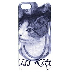 Miss Kitty Blues Apple Iphone 5 Hardshell Case With Stand