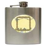 flask star 2 - Hip Flask (6 oz)