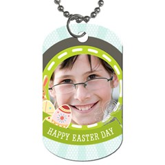 Easter By Easter   Dog Tag (two Sides)   Q2mgmhvp4m35   Www Artscow Com Front