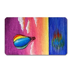 Trips In Hot Air Magnet (rectangular) by CaterinaBassano