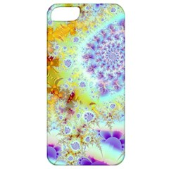 Golden Violet Sea Shells, Abstract Ocean Apple Iphone 5 Classic Hardshell Case by DianeClancy
