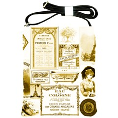 Parisgoldentower Shoulder Sling Bag by misskittys