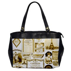 Parisgoldentower Oversize Office Handbag (one Side) by misskittys