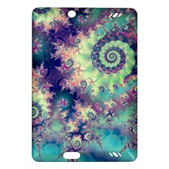 Violet Teal Sea Shells, Abstract Underwater Forest Kindle Fire Hd 7  (2nd Gen) Hardshell Case by DianeClancy