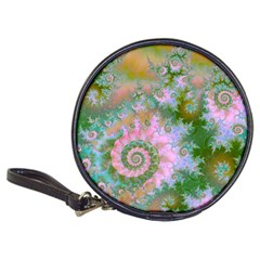 Rose Forest Green, Abstract Swirl Dance Cd Wallet by DianeClancy