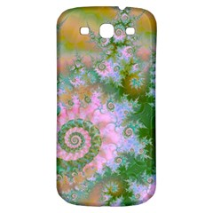 Rose Forest Green, Abstract Swirl Dance Samsung Galaxy S3 S Iii Classic Hardshell Back Case by DianeClancy