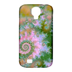 Rose Forest Green, Abstract Swirl Dance Samsung Galaxy S4 Classic Hardshell Case (PC+Silicone) by DianeClancy