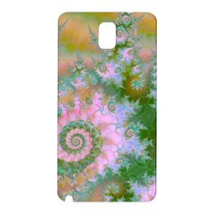 Rose Forest Green, Abstract Swirl Dance Samsung Galaxy Note 3 N9005 Hardshell Back Case by DianeClancy