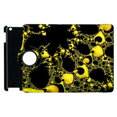 Special Fractal 04 Yellow Apple Ipad 3/4 Flip 360 Case by ImpressiveMoments