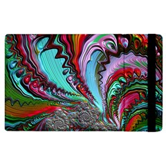Special Fractal 02 Red Apple Ipad 2 Flip Case by ImpressiveMoments