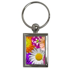 Lovely Flowers,purple Key Chain (rectangle) by ImpressiveMoments