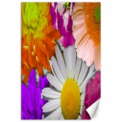 Lovely Flowers,purple Canvas 20  X 30  (unframed) by ImpressiveMoments