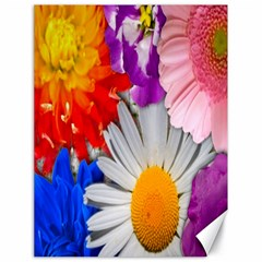 Lovely Flowers, Blue Canvas 18  x 24  (Unframed)