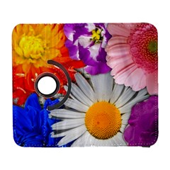 Lovely Flowers, Blue Samsung Galaxy S  III Flip 360 Case by ImpressiveMoments
