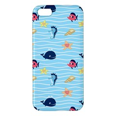 Fun Fish Of The Ocean Apple Iphone 5 Premium Hardshell Case by StuffOrSomething