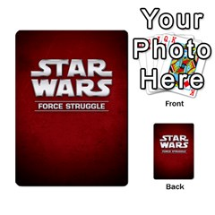Star Wars Force Struggle (love Letter Retheme) By Ryno   Multi Purpose Cards (rectangle)   Ooojaz6f6ogv   Www Artscow Com Back 1