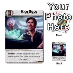 Star Wars Force Struggle (love Letter Retheme) By Ryno   Multi Purpose Cards (rectangle)   Ooojaz6f6ogv   Www Artscow Com Front 8