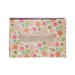 Today Large Cosmetic Bag By Lisa Minor   Cosmetic Bag (large)   38f0mqa98o6d   Www Artscow Com Back