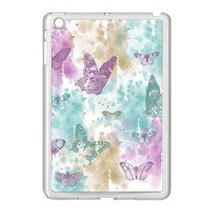 Joy Butterflies Apple Ipad Mini Case (white) by zenandchic