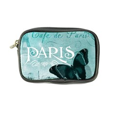 Paris Butterfly Coin Purse by zenandchic