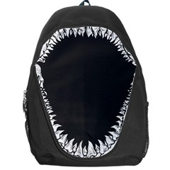 Shark Jaws Backpack Bag by Contest1753604