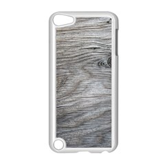 Weathered Wood Apple iPod Touch 5 Case (White)