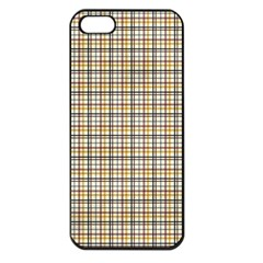 Plaid 4 Apple Iphone 5 Seamless Case (black)