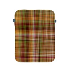 Plaid 2 Apple Ipad Protective Sleeve by chivieridesigns