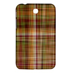 Plaid 2 Samsung Galaxy Tab 3 (7 ) P3200 Hardshell Case  by chivieridesigns