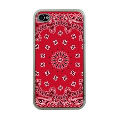 Bandana Apple Iphone 4 Case (clear) by chivieridesigns