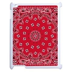 Bandana Apple Ipad 2 Case (white) by chivieridesigns