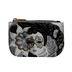 Venetian Mask Coin Change Purse by StuffOrSomething