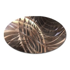 Copper Metallic Magnet (oval) by CrypticFragmentsDesign