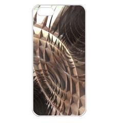 Copper Metallic Apple Iphone 5 Seamless Case (white)