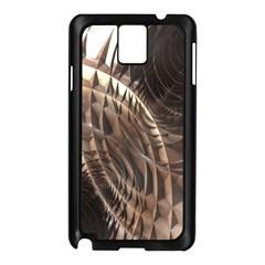 Copper Metallic Samsung Galaxy Note 3 N9005 Case (black) by CrypticFragmentsDesign