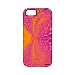 Magenta Boardwalk Carnival, Abstract Ocean Shimmer Apple Iphone 5 Classic Hardshell Case (pc+silicone) by DianeClancy