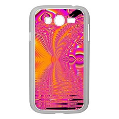 Magenta Boardwalk Carnival, Abstract Ocean Shimmer Samsung Galaxy Grand Duos I9082 Case (white) by DianeClancy