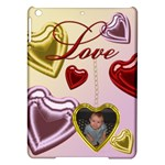 Love Heart Locket Apple iPad Air Hardshell - Apple iPad Air Hardshell Case