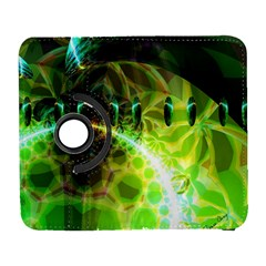 Dawn Of Time, Abstract Lime & Gold Emerge Samsung Galaxy S  Iii Flip 360 Case by DianeClancy