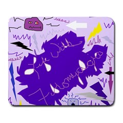 Life With Fibro2 Large Mouse Pad (rectangle) by FunWithFibro