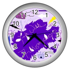 Life With Fibro2 Wall Clock (silver) by FunWithFibro