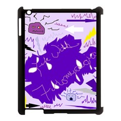 Life With Fibro2 Apple Ipad 3/4 Case (black) by FunWithFibro