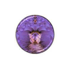 Artsy Purple Awareness Butterfly Golf Ball Marker 10 Pack (for Hat Clip) by FunWithFibro