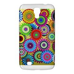 Psychedelic Flowers Samsung Galaxy Mega 6 3  I9200 Hardshell Case by StuffOrSomething
